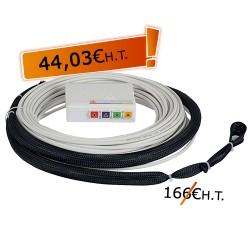 DTIO 4 SC/APC jarretière opt. abonné G657 - 60 m