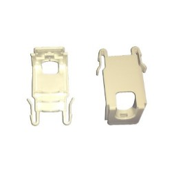 Lot de 2 clips de bandeau Hauteur 30mm