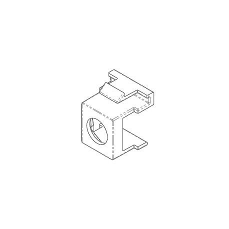 Support HNI pour connecteur F (livré sans connecteur F)