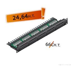 "Bandeau 19"" 50 ports TeL. (3-6/4-5)"