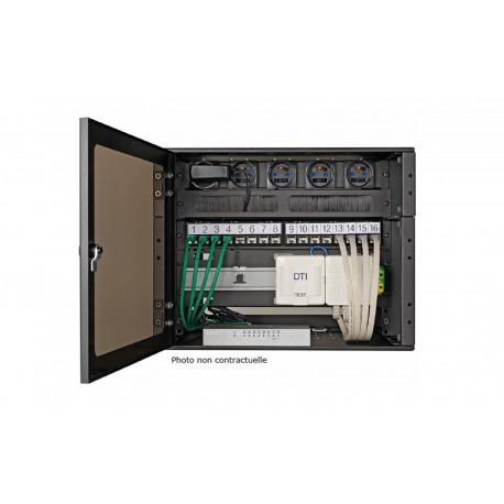 Pack -  MEZZO  6U Cat.6A FTP - 16 RJ45