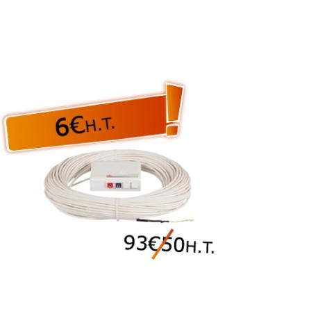 DTIO 2 SC/APC câble abonné G657 - 60 m