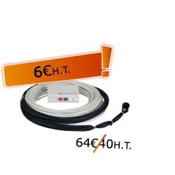 DTIO 2 SC/APC jarretière opt. abonné G657- 20 m