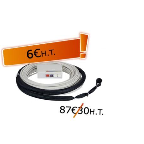DTIO 2 SC/APC jarretière opt. abonné G657- 40 m