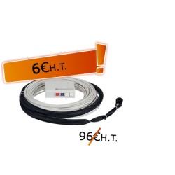 DTIO 2 SC/APC jarretière opt. abonné G657- 50 m