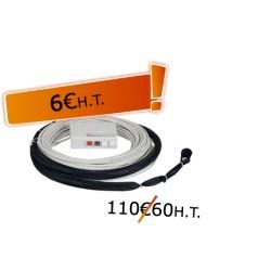 DTIO 2 SC/APC jarretière opt. abonné G657- 60 m