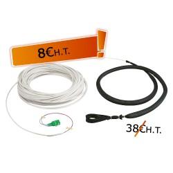 Jarretière Optique Monomode G657 2FO 20m