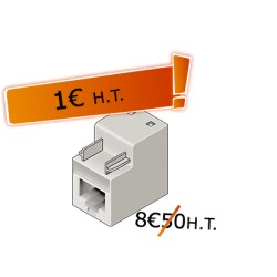 Connecteur RJ45 UTP Cat. 6