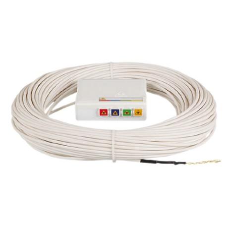 DTIO 4 SC/APC câble abonné G657 - 40 m